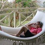 A hammock in every room's veranda