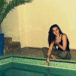 le henné et la piscine