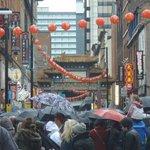 Chinatown crowds
