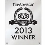 Trip Advisor Travelers Choice 2013