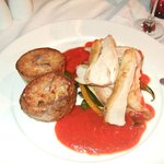 guinea fowl with fondant potato