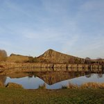 Cawfields car park and picnic area