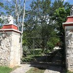 Eingangsportal / entrance to the hacienda