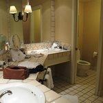 bath double vanity spacious