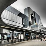 Kyoto Station, bus terminal next to Hotel Granvia