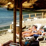 tomar sol en Inti-Mar