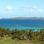 Union island from Palm Island