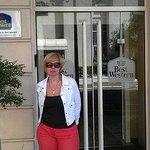 вход в отель BEST WESTERN Hotel Riviera