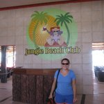Enterance to the Jungle Beach Club