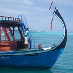 Hotel boat - complimentary snorkelling trip