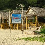 Restaurant along the beach