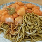 The food that i had - Sweet and sour chicken
