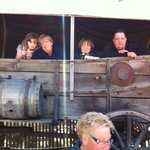 AT THE OLD WEST SHOW