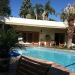 Beautiful poolside suites - backside