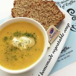 Yummy Real Homemade Soup & Brown Bread