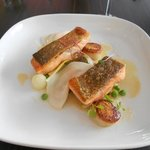 Sea trout excellent dish