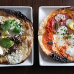 White or Red Flatbread?
