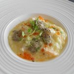 Risotto with shrimp and truffle