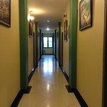 Hallway at the 1st floor.