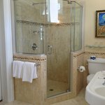 Carriage house shower