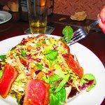 Asian tuna Sashimi Salad