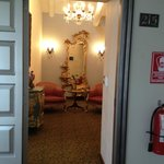 Entry to room 215!