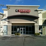 Front of Chipotle in Dania Beach, Ft. Lauderdale