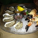 Oyster and Stone Crab Appetizer