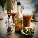 Spice-it-yourself Bloody Marys