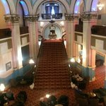 The grand staircase