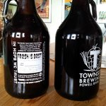 Growlers, refillable
