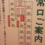 部屋番号が謎です。