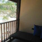 Vue du balcon - chambre premium