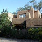 Front of condo in Santa Fe