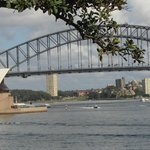 Two of the most famous sites in Sydney