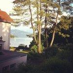 Petite vue sur le lac