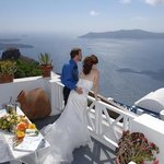 Wedding day at the Heliotopos