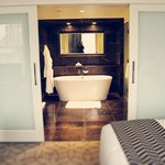 Fabulous bathroom in the deluxe room