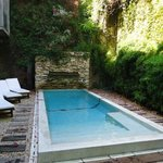 Small court yard pool