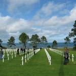 American cemetary at D Day beaches