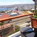 Vista desde el balcón (habitación mas cara)