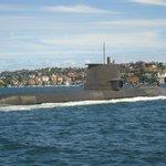 A submarine!