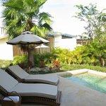 patio plunge pool