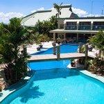 Hotel Pool - Aerial