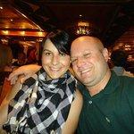 eu e minha esposa  no  navio Costa Fortuna