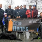 Some of our divers doing a Lingcod Eggmass Survey for the Vancouver Aquarium at Porteau Cove