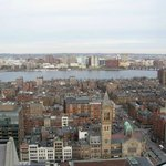 View from our room over Boston!