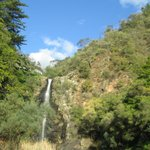 View of 1st falls as you walk towards it from the carpark.