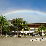 Captured this magnificent rainbow over Pico Beach Club
