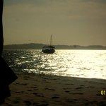Atardecer en Playa Gamboa